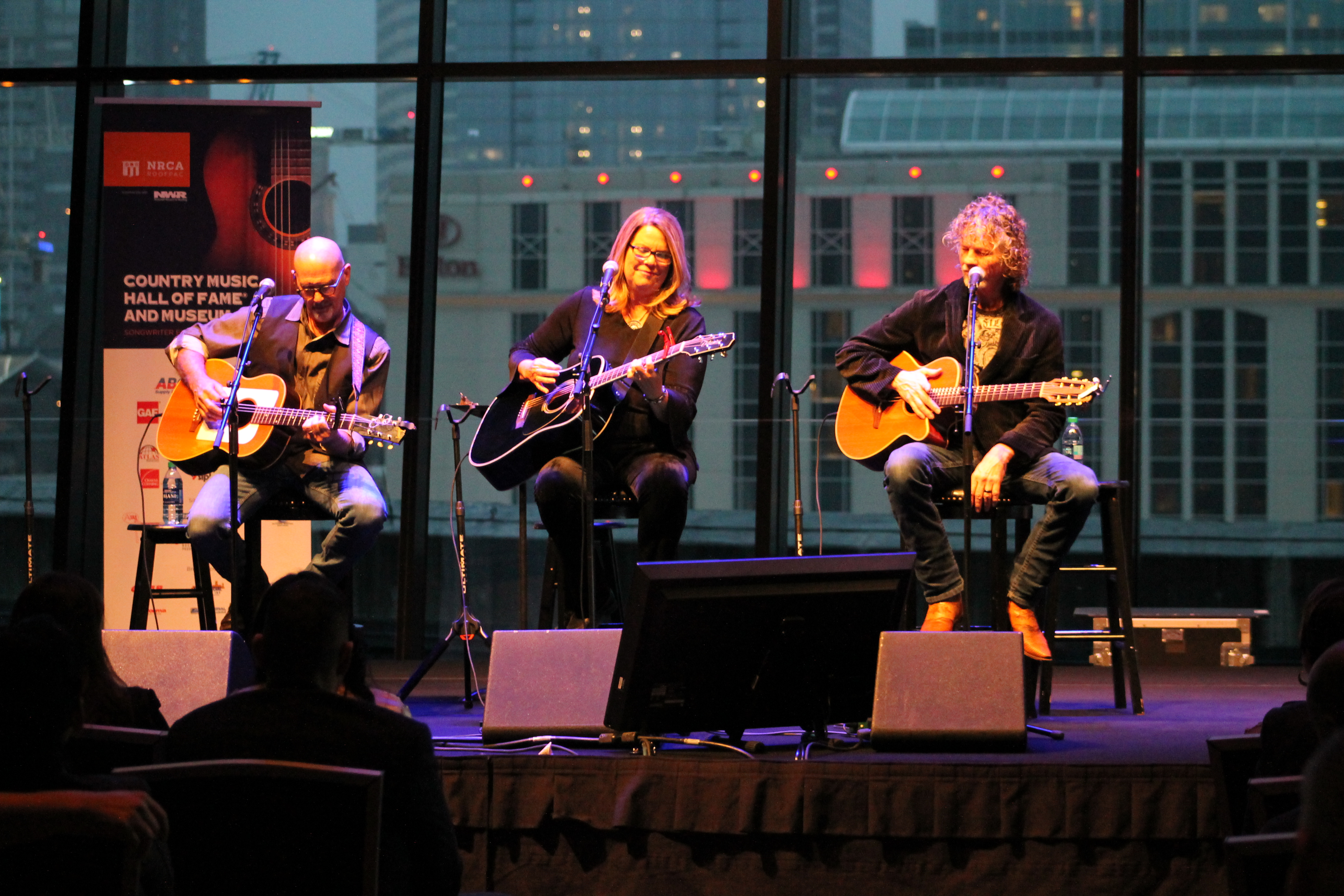 NRCA's ROOFPAC held a songwriter extravaganza event at the Country Music Hall of Fame® and Museum in Nashville, Tenn., during IRE.