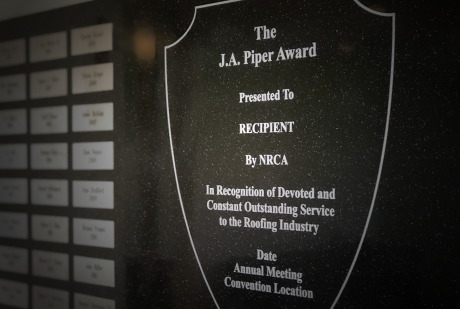 J.A. Piper Award