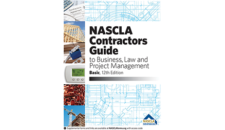 NASCLA Contractors Guide to Business, Law and Project Management, Basic, 12th Edition
