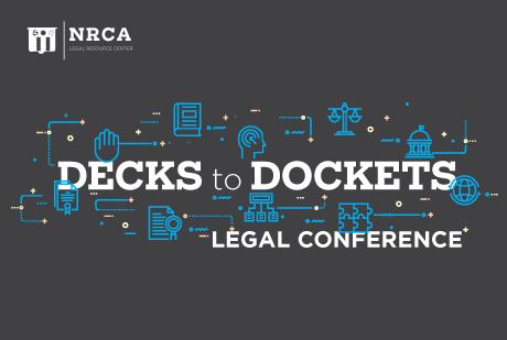 NRCA Legal Seminar Oct. 14-17, 2020
