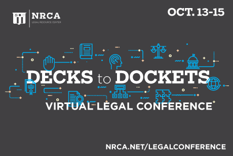 NRCA Virtual Legal Conference Oct. 13-15