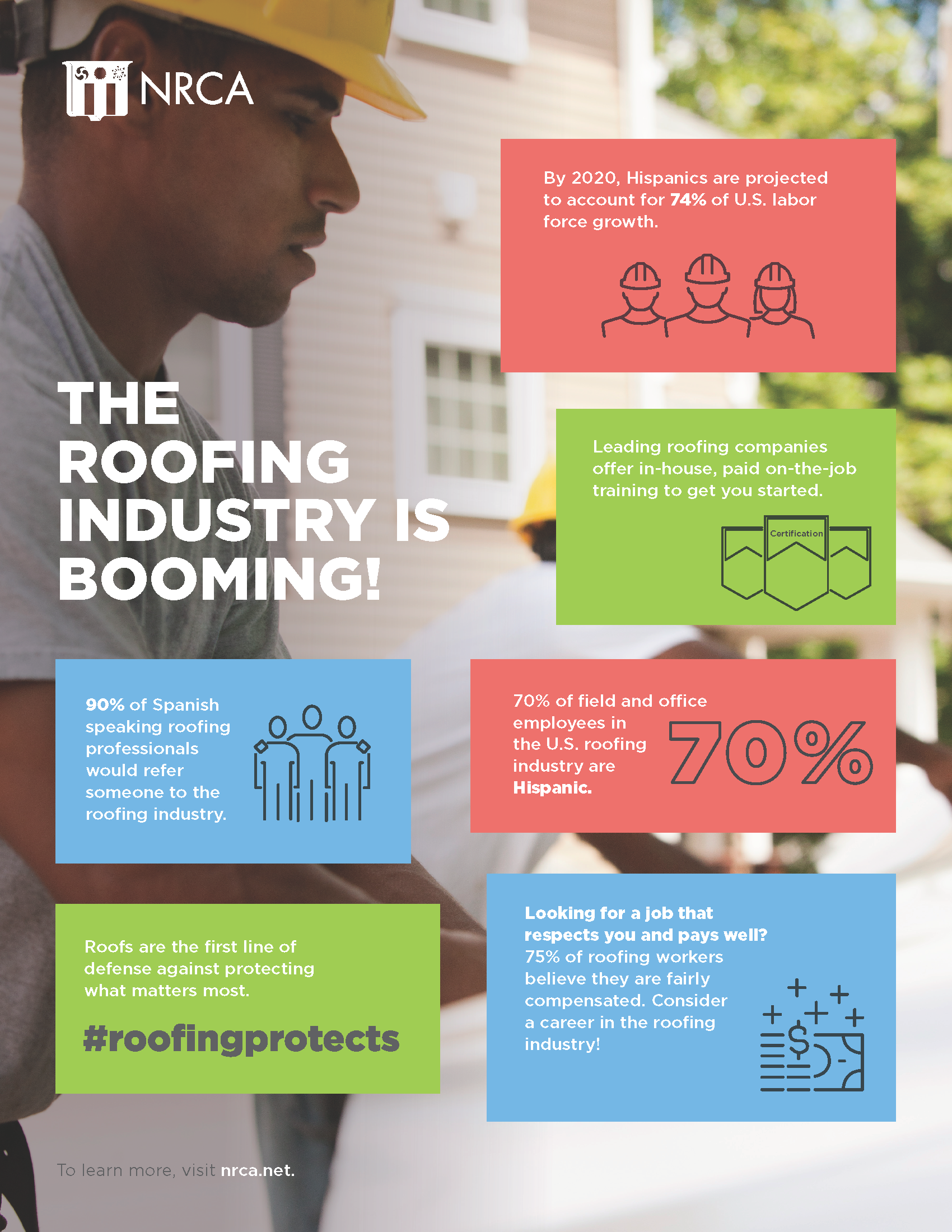 The Roofing Industry is Booming! (Hispanic)