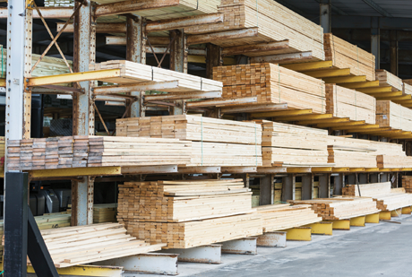 Construction material prices are 20.8% higher than a year ago