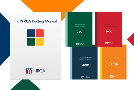 The NRCA Roofing Manual—2021 Boxed Set