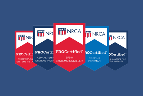 Last chance for free NRCA ProCertification<sup>®</sup> performance exams