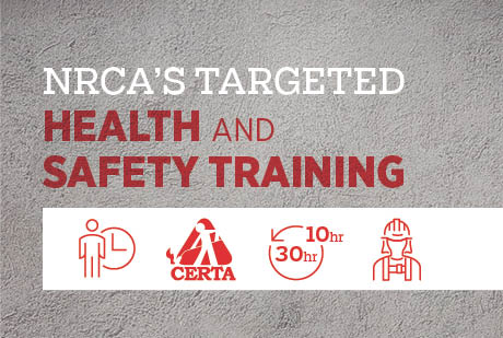 Take advantage of NRCA's new health and safety programs