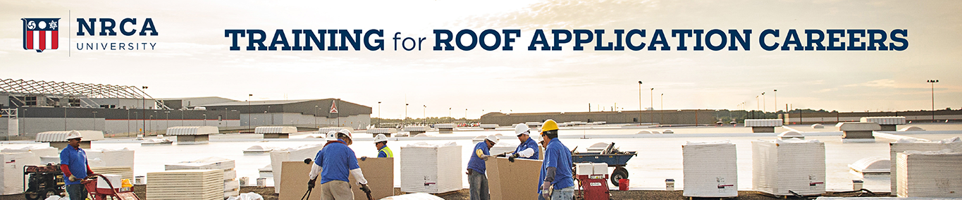Training for Roof Application Careers