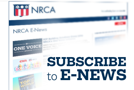Subscribe to NRCA E-News