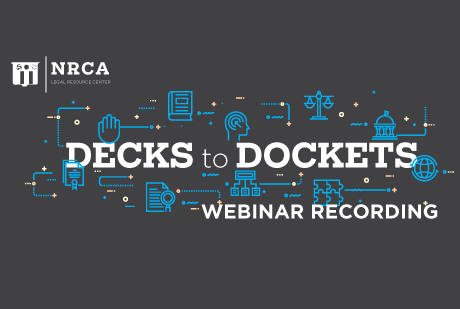 NRCA Virtual Legal Conference Recordings