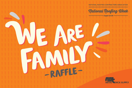 We are the Family raffle
