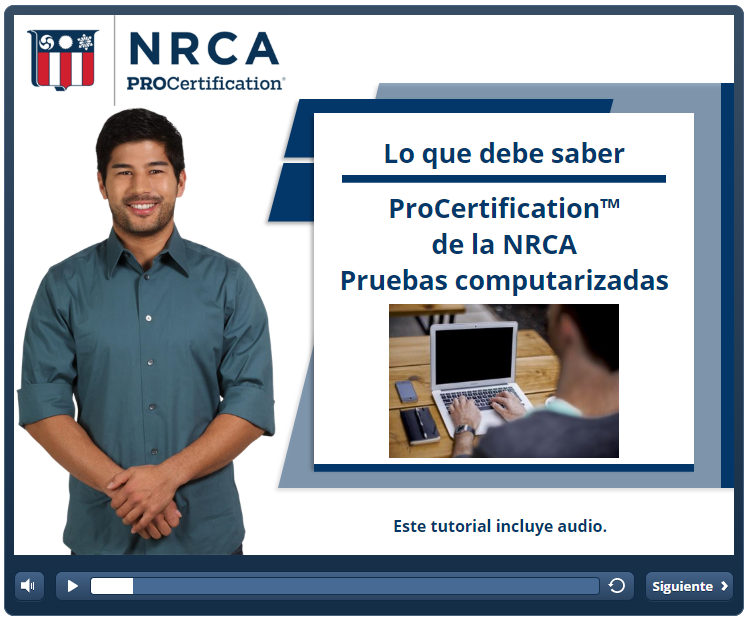 ProCertification Installer Spanish Tutorial