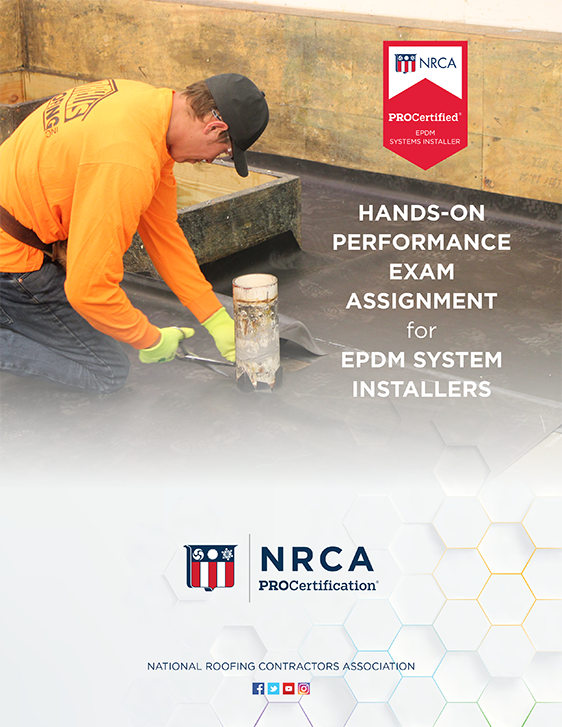ProCertified EPDM Systems Installer