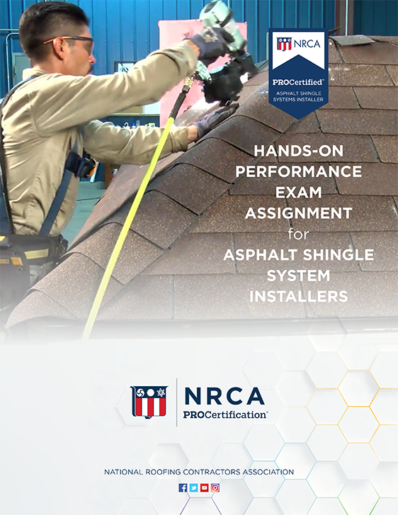 ProCertified Asphalt Shingle Installer